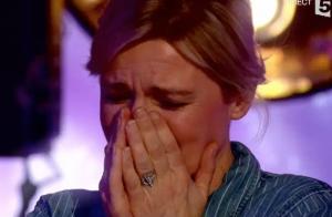 Anne-Elisabeth Lemoine choquée et hilare face à la gagnante d'Incroyable Talent