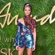 """""""Adwoa Aboah aux Fashion Awards 2017 au Royal Albert Hall. Londres, le 4 décembre 2017."""""""