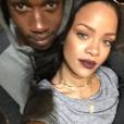 Rihanna et son cousin Tavon Kaiseen Alleyne sur une photo publiée sur Instagram en janvier 2017.