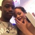 Rihanna et son cousin Tavon Kaiseen Alleyne sur une photo publiée sur Instagram en décembre 2016.