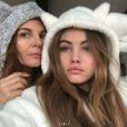 Véronika Loubry et Thylane Blondeau sur une photo publiée sur Instagram le 15 décembre 2017