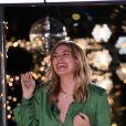 """Exclusif - Louane Emera - Enregistrement de l'émission """"Toute la musique qu'on aime"""" présentée par Nikos Aliagas à Paris le 4 décembre 2017. L'émission sera diffusée sur TF1 le 31 décembre 2017. © Cyril Moreau / Bestimage"""