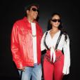 JAY-Z et Beyoncé déguisés en The Notorious B.I.G et Lil' Kim pour Halloween. Novembre 2017.