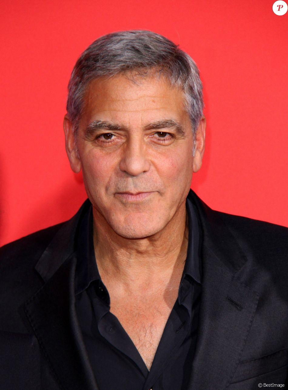 George Clooney à la première de 'Suburbicon' au théâtre Regency Village à Westwood, le 22 octobre 2017 © AdMedia via Zuma/Bestimage