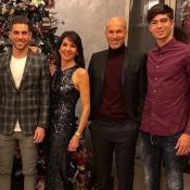 Zinedine Zidane se lâche en famille : Photo décalée pour fêter 2018