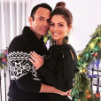 Keven Undergaro et Maria Menounos sur une photo publiée sur Instagram le 28 décembre 2017