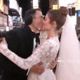"""""""Keven Undergaro et Maria Menounos se sont mairés en direct à la télévision lors d'une émission spéciale diffusée sur Fox le 31 décembre 2017"""""""
