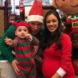 Rob Dyrdek prépare Noël avec sa femme Bryiana et leur fils aîné Kodah. Instagram le 1er décembre 2017