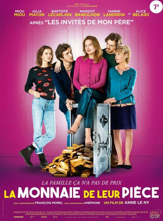 Affiche du film La Monnaie de leur pièce, en salles le 10 janvier 2018