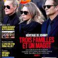 """""""Couverture du magazine """"VSD"""" en kiosques le 4 janvier 2018"""""""