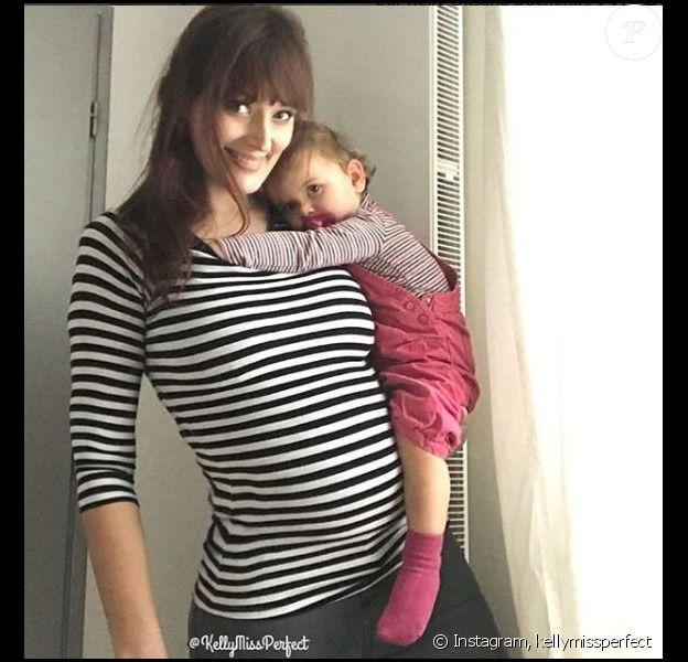 Kelly Bochenko et sa fille - Instagram