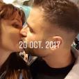 Charlène et Florian en voyage romantique à Rome, 14 décembre 2017, Instagram