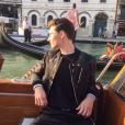 """""""Noé Elmaleh à Venise pour le shoot de la nouvelle campagne Dolce & Gabbana. Septembre 2017."""""""