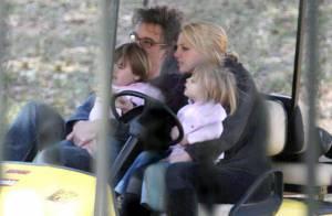 Britney Spears avec ses adorables gamins... Un peu de repos avant le show !