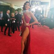 Blanca Blanco, sulfureuse dans sa robe rouge, ne suit pas le mouvement