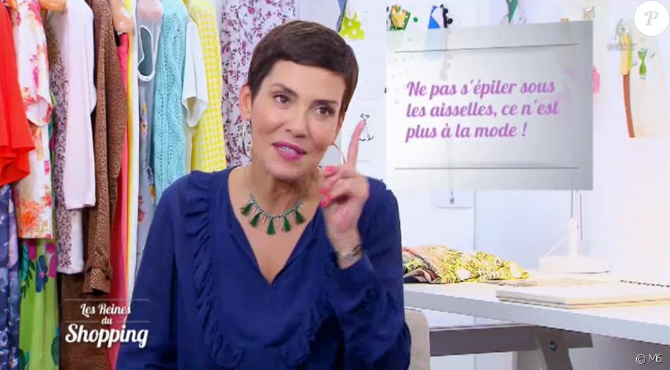 "Cristina Cordula dans ""Les Reines du shopping"" (M6), mercredi 15 novembre 2017."