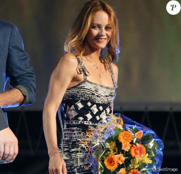 """Vanessa Paradis lors de la première du film """"Chien"""" au 70 ème festival du film de """"Locarno"""" le 7 août 2017  Vanessa Paradis attends 'Chien' premiere during the 70th Locarno Film Festival on August 7, 2017 in Locarno, Switzerland.07/08/2017 - Locarno"""