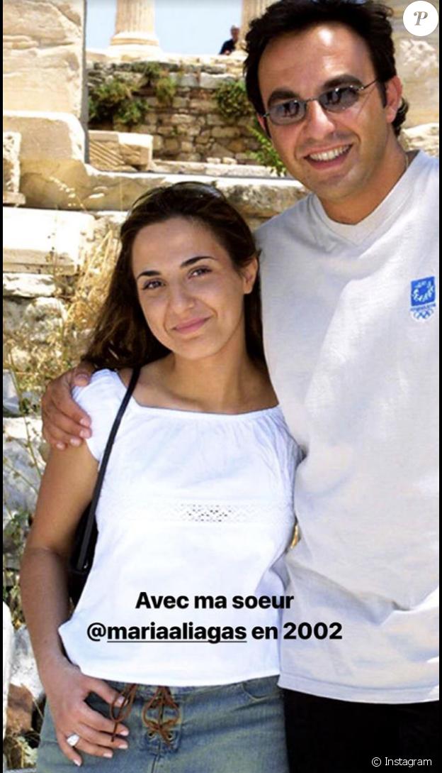 Nikos Aliagas plus jeune.