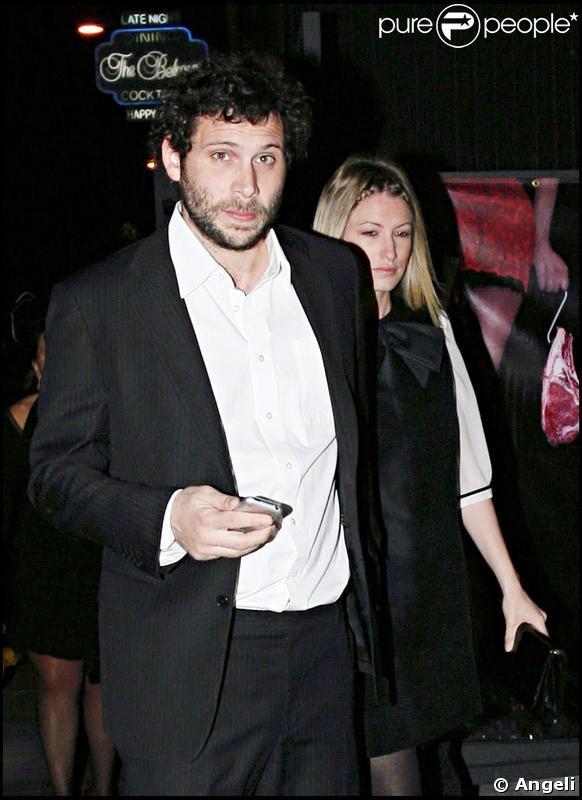Jeremy Sisto et sa fiancée Addie Lane en 2008