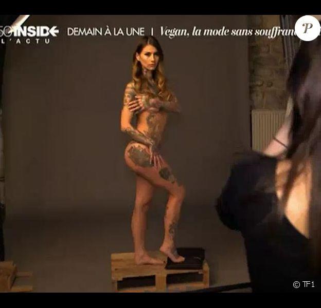 """Fanny Maurer de """"Secret Story 6"""" pose nue pour la bonne cause"""