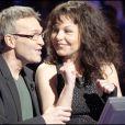 Isabelle Mergault et Laurent Ruquier - Qui veut gagner des millions ? Le 5 mai 2008