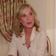 Michèle Laroque en interview avec Purepeople pour son film Brillantissime.