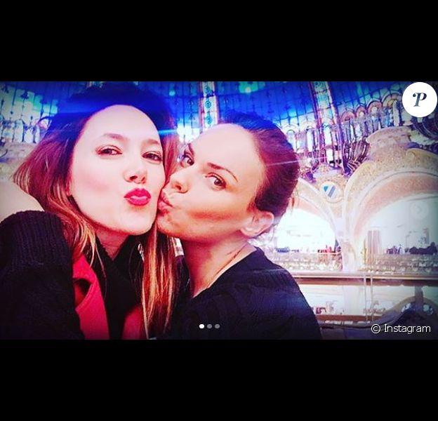 """Géraldine Lapalus et Sandra Lou, qui se donnaient la réplique dans la série """"Le Groupe"""", se sont retrouvées le temps d'une virée shopping."""