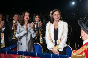 """Stéphanie de Monaco : """"Scandalisée"""" mais heureuse en famille sous le chapiteau"""