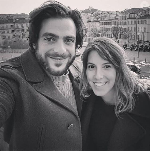 """Barbara (Léa François) et Elias (Marco Horanieh) se marient dans """"Plus belle la vie"""" (France 3)."""
