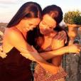 Meghan Markle et son amie Jessica Mulroney lors d'un séjour en Italie en 2016, photo Instagram.