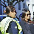 """Eva Longoria, enceinte - Les célébrités lors de la manifestation géante aux États-Unis pour la 2e """"Marche des femmes"""" à Los Angeles le 20 janvier 2018."""
