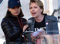 Scarlett Johansson furieuse et Eva Longoria très enceinte à la Women's March
