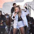 """Rachel Platten - Les célébrités lors des manifestations géantes aux États-Unis pour la 2e """"Marche des femmes"""" à Los Angeles le 20 janvier 2018."""