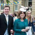 La princesse Eugenie d'York et son compagnon Jack Brooksbank au mariage de Thomas Van Straubenzee et Melissa Percy en juin 2013. La princesse Eugenie et Jack se sont fiancés en janvier 2018 au Nicaragua et leur mariage sera célébré à Windsor à l'automne 2018, a révélé Buckingham Palace le 22 janvier 2018.