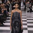 Défilé de mode Christian Dior haute couture printemps-été 2018 à Paris, le 22 janvier 2018.