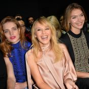 Fashion Week : Kylie Minogue et Natalia Vodianova, lumineuses à Paris