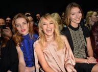 Fashion Week : Kylie Minogue et Natalia Vodianova, lumineuses à Paris