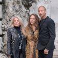 Tina Green, Chloe Green et Jeremy Meeks - Défilé Ralph & Russo, collection Haute Couture printemps-été 2018 à Paris. Le 22 janvier 2018.