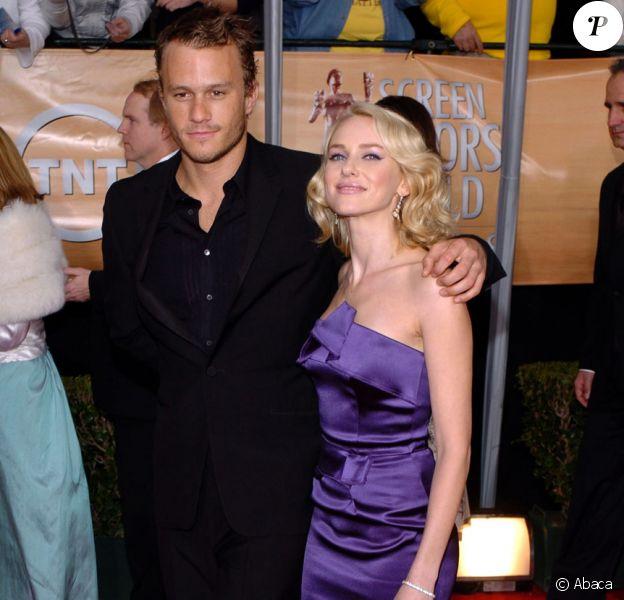 Naomi Watts et Heath Ledger en 2004