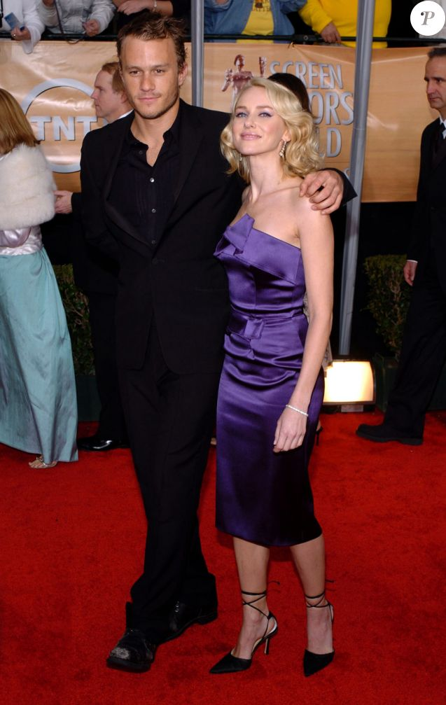 Naomi Watts et Heath Ledger en 2004