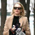 Naomi Watts se promène dans les rues de New York le 19 janvier 2018.