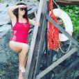 "Charlène de ""Mariés au premier regard"" sexy en bikini, Instagram, 25 janvier 2018"