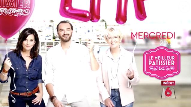 """Faustine Bollaert, Cyril Lignac et Mercotte font du programme Le Meilleur Pâtissier une """"émission de bonne humeur""""."""