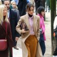 Victoria Beckham, toute de Victoria Beckham vêtue (pré-collection automne 2018) au défilé de mode Louis Vuitton à Paris. Le 18 janvier 2018 © CVS - Veeren / Bestimage