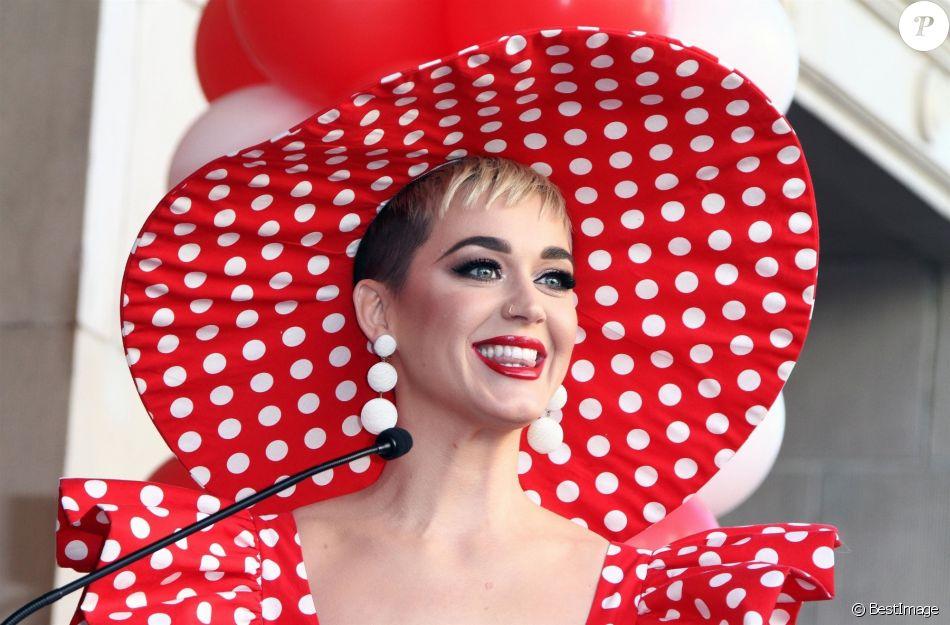 Katy Perry - Minnie Mouse reçoit son étoile sur le Walk of Fame au théâtre El Capitan à Hollywood, le 22 janvier 2018