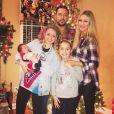Jason, Brittany Aldean et leurs trois enfants. Décembre 2017.