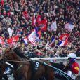 Ambiance - 97ème édition du Grand Prix d'Amérique à l'hippodrome de Vincennes à Paris, France, le 28 janvier 2018. © Giancarlo Gorassini/Bestimage