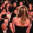 Dakota Johnson répond à Jimmy Fallon sur le fameux moment des Golden Globes durant lequel Jennifer Aniston est montée sur scène, face à Angelina Jolie dans l'assistance - janvier 2018