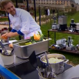 """Jeremy Vandernoot  et Camille Delcroix - """"Top Chef 2018"""" sur M6. Le 7 février 2018."""