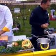 """Mathew Hegarty et Vincent Crepel- """"Top Chef 2018"""" sur M6. Le 7 février 2018."""